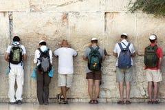 西部耶路撒冷的墙壁 免版税库存图片