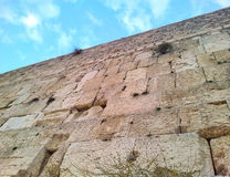 西部耶路撒冷的墙壁 免版税库存照片