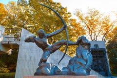 西部艺术国家博物馆在东京,日本 免版税图库摄影