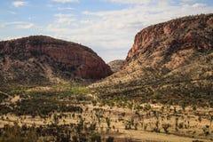 西部麦道范围的Iew从桂皮小山,北方领土,澳大利亚的 免版税库存照片