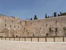 西部jurasalem的墙壁 免版税图库摄影