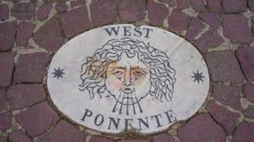 西部Ponente 库存照片
