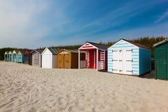 西部Wittering海滩西萨塞克斯郡英国 图库摄影