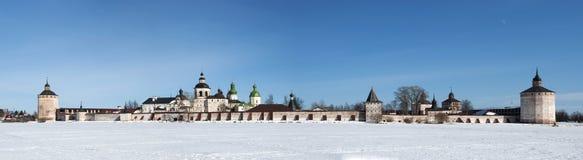 西里尔Belozersky修道院。 免版税图库摄影