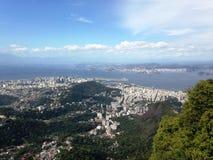 从巴西里约的看法 库存图片