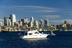 西雅图乘快艇 库存照片