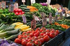 西雅图农夫` s市场 免版税库存照片