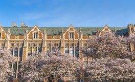 西雅图华盛顿大学,西雅图, washingto n,美国 04-03-2017 :ch 免版税图库摄影