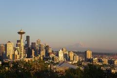 西雅图地平线 图库摄影