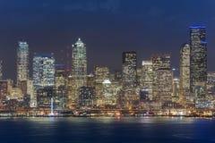 西雅图地平线 免版税库存图片