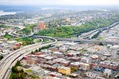 西雅图地平线 免版税图库摄影