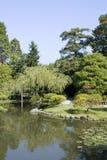 西雅图日本人庭院 免版税图库摄影