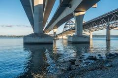 西雅图桥梁2 库存照片