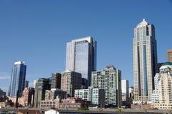 西雅图江边 免版税图库摄影