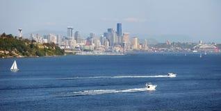 西雅图江边 免版税库存图片