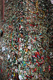 西雅图的胶墙壁 库存照片
