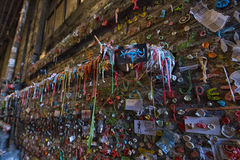 西雅图的胶墙壁 免版税库存照片