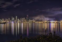 西雅图的颜色 免版税库存照片