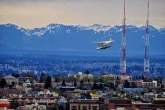 西雅图空间针视图 免版税库存照片