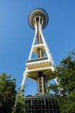 西雅图空间针 免版税库存照片