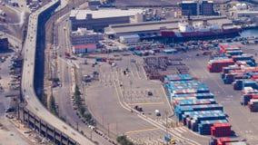 西雅图造船厂时间间隔平底锅 影视素材