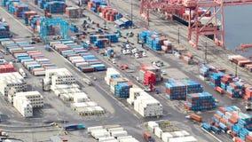 西雅图造船厂时间间隔平底锅 股票视频