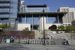 西雅图香港大会堂 免版税库存图片