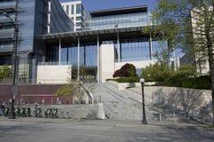 西雅图香港大会堂 免版税图库摄影