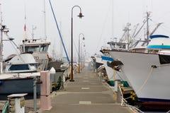 西雅图, WA - 2017年10月28日:渔夫` s终端 免版税库存照片