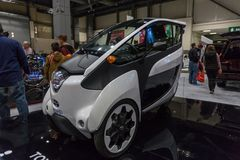 西雅图, WA - 2017年11月12日:西雅图国际汽车展 免版税库存图片