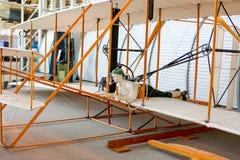 西雅图, WA - 2017年4月8日:飞行博物馆在西雅图,华盛顿,美国 免版税库存图片