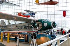 西雅图, WA - 2017年4月8日:飞行博物馆在西雅图,华盛顿,美国 免版税图库摄影