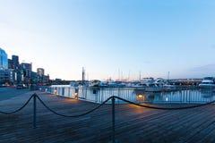 西雅图, WA - 2011年3月23日 西雅图,阿拉斯加的方式 免版税库存照片