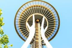 西雅图-空间针象  库存图片