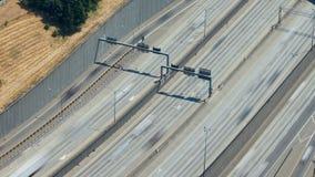 西雅图I-5交通时间间隔徒升 股票录像
