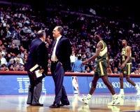 西雅图Sonics主教练乔治・卡尔 库存图片