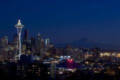 西雅图wa 库存照片