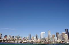 西雅图waterfromt 免版税库存照片
