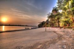西非几内亚比绍Bijagos海岛 免版税库存图片