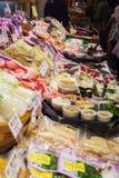 西龟食物市场京都日本 免版税库存照片