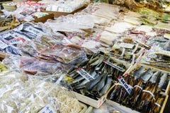 西龟食物市场京都日本 免版税图库摄影