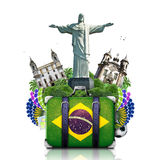 巴西,巴西地标 免版税库存图片