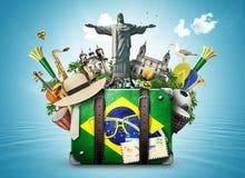 巴西,巴西地标 免版税库存照片