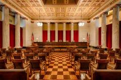 西维吉尼亚最高法院房间 免版税库存图片