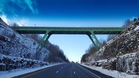 西维吉尼亚桥梁 库存图片