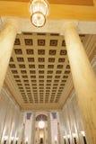 西维吉尼亚状态国会大厦内部  免版税库存照片