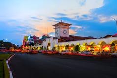 西贡在夜之前 库存图片