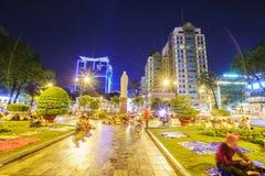 西贡在夜之前 图库摄影