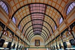 西贡市邮局 免版税库存图片