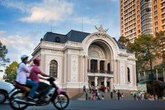 西贡歌剧院 免版税图库摄影